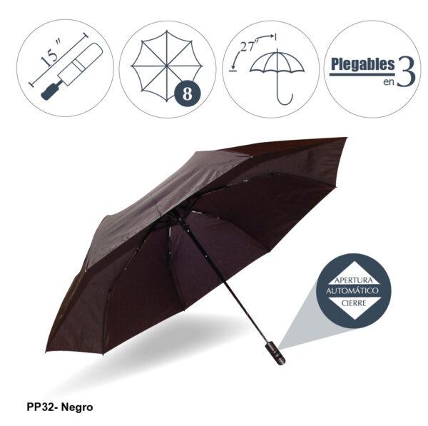 Paraguas sombrilla REGO automático