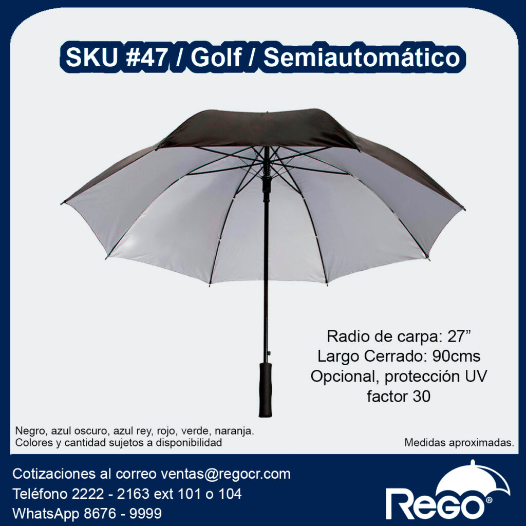 Paraguas promocional Rego